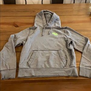 Boys Large Abercrombie and Fitch hooded sweatshirt
